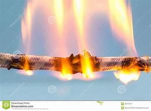 Burning Cable Stock Image  Image Of House  Burnt