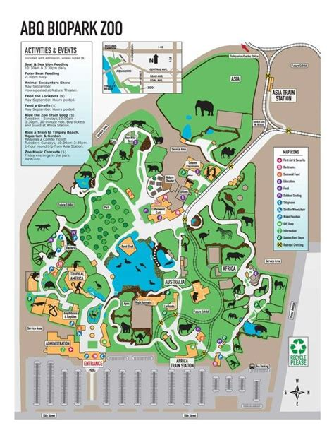 Zoologischer Garten Places To Eat by Map Of The Albuquerque Zoo Beautiful New Mexico In 2019