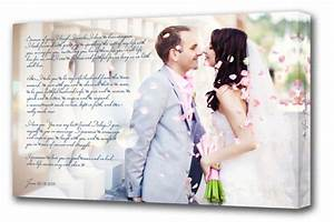 custom canvas prints with your own custom text With wedding photography printing