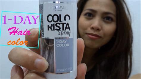 1 Day Hair Color  ( Tagalog