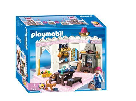 cuisine princesse playmobil cuisinière et cuisine de princesse