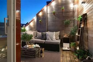 Ideen Zur Balkongestaltung : 25 urban terrassengestaltung beispiele ~ Markanthonyermac.com Haus und Dekorationen