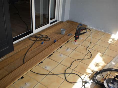 poser une terrasse en bois avec peu de hauteur de r 233 serve