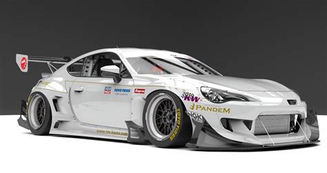 subaru brz racing pandem subaru brz racing canard kit is no rocket bunny