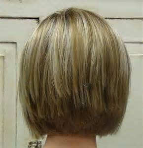 Short Stacked Bob Haircuts Fine Hair