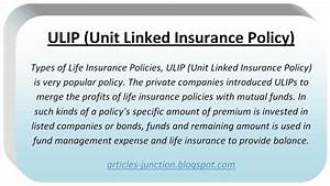 Articles Junction  Types Of Life Insurance Policies Life Insurance Definition Meaning