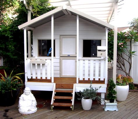 paint your cubby to match your house or childrens style