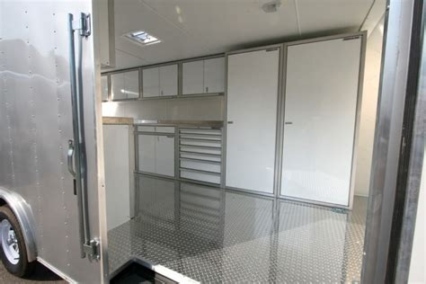 Enclosed Trailer Cabinets by Choosing The Right Enclosed Trailer Cabinets