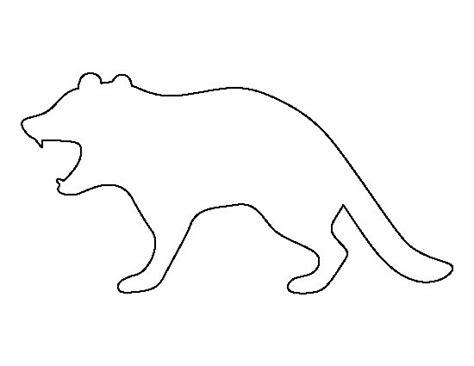 Tasmanian Devil Pattern. Use The Printable Outline For