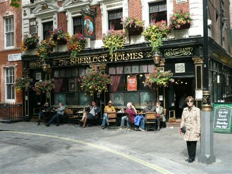 sherlock holmes pub london england restaurants tripadvisor themed street bar address bars literary around place club hours