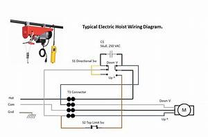 Electric Hoist Wiring Diagram Harbor Freight Electrical