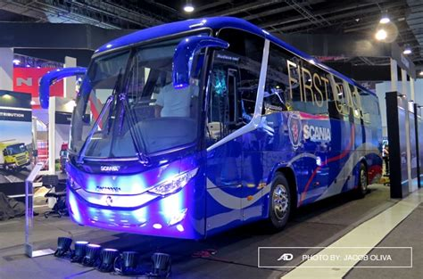 scania ph launches  marcopolo  class bus autodeal