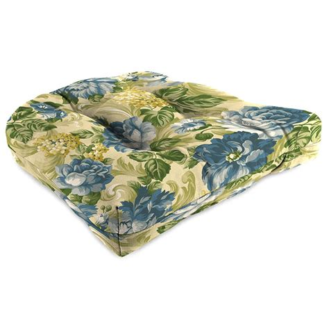 mfg co 2pc 19 x 19 tufted outdoor chair cushion