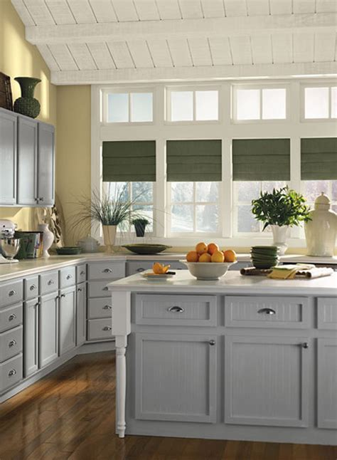 gray owl kitchen cabinets tag archive for quot gray kitchens quot the painted room color 235 | Ben Mooresun splashed kitchen corner
