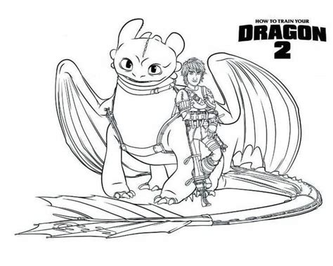train  dragon toothless coloring pages dragon