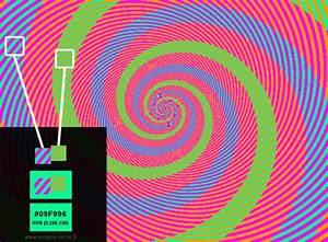 illusion d39optique la spirale enigme facile With toute les couleurs de peinture 9 illusion doptique