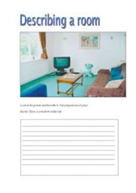 english teaching worksheets rooms   house
