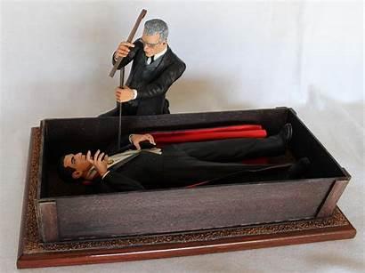 Coffin Dracula Draculas Apoxie Thedoctorsmodelmansion Doctor