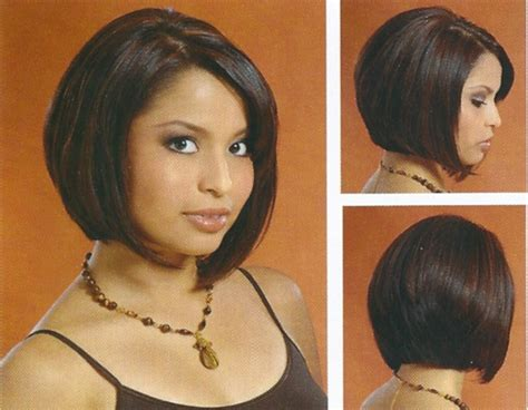 Back Bob Haircut Images Below Chin Line Front Side