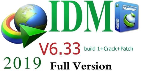 With this download software, you can speed up downloads by up to 5 times on your windows pc. Download IDM 6.33 build 1+2 +Crack+Patch 2019 full version
