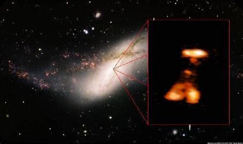 Black Hole Explosion In Distant NGC 660 Galaxy Has ...