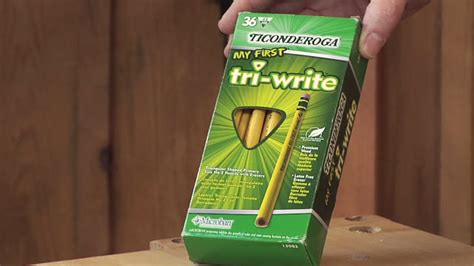 woodworking pencil review ticonderoga   tri write