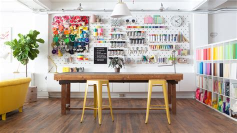 metal spray paint 23 craft room ideas we need to southern living
