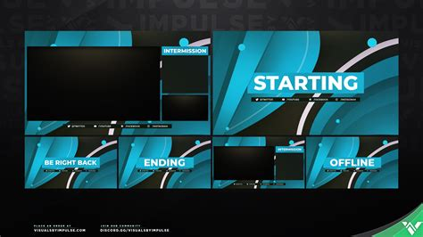 spectrum stream screen package overlay screens  twitch streamers
