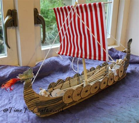Viking Longboat Model by Model Boat Scuola Boat Crafts