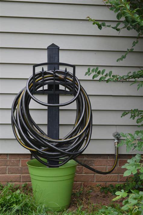 garden hose holder meer dan 1000 idee 235 n waterslang houder op