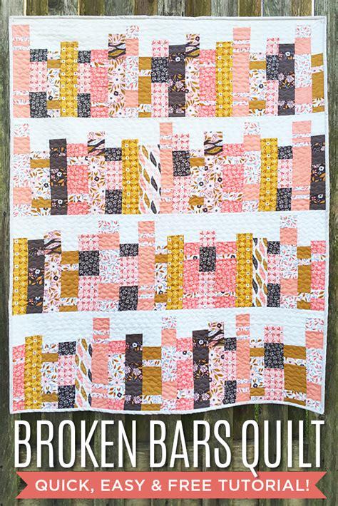 missouri quilt company tutorial reboot broken bars quilt featuring guest