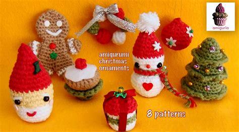 amiguria amigurumi amigurumi santa ornament