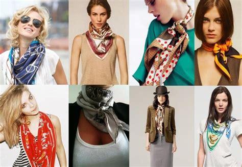 comment porter un foulard en soie forum mode