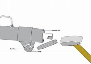 Removal And Installation Of The Steering Rack Bushings 1