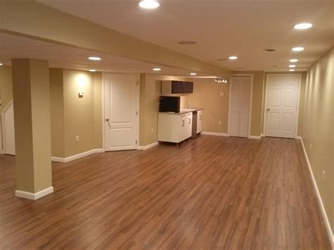Basement Recessed Lighting In Warm Look Beautiful Living Room Designs Average Size Of Themes Table Sets Cheap How Much To Carpet A Color For Walls In Dark Gray Furniture Tranquil