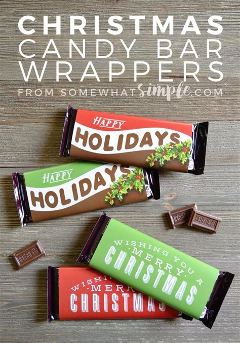 All of coupon codes are verified and tested today! Christmas Candy Bar Wrappers Printable | Somewhat Simple