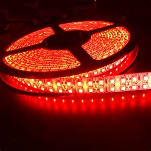 Ruban Led Rouge : ruban led rouge 240 leds m super bright etanche deco ~ Edinachiropracticcenter.com Idées de Décoration