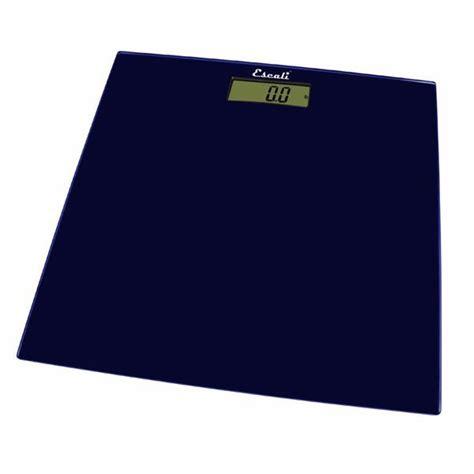 escali square glass platform bathroom scale color choice