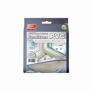 Joint fenetre pvc huisserie recente transparent 1cm for Joint porte fenetre pvc