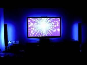 Led Hintergrundbeleuchtung Tv Nachrüsten : 5050 led smd behind tv mood light backlight youtube ~ Watch28wear.com Haus und Dekorationen