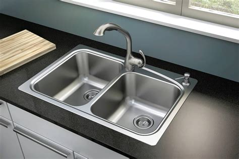 Popular Stainless Steel Sink With Drainboard — The Homy Design