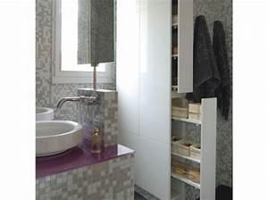 Salle De Bain Etroite : armoire salle de bain etroite ~ Melissatoandfro.com Idées de Décoration