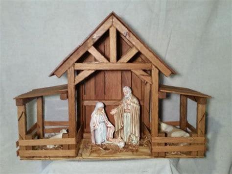 unique nativity stable ideas  pinterest christmas