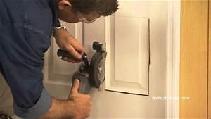 dualsaw installing a pet door youtube With dog door without cutting door