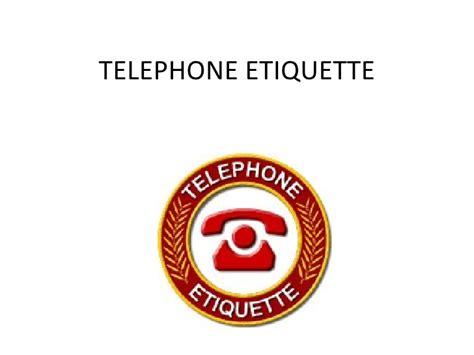telephone customer service skills telephone etiquette