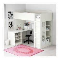 stuva kinderzimmer stuva loft bed combo w 2 shlvs 3 shlvs white 207x99x193 cm ikea