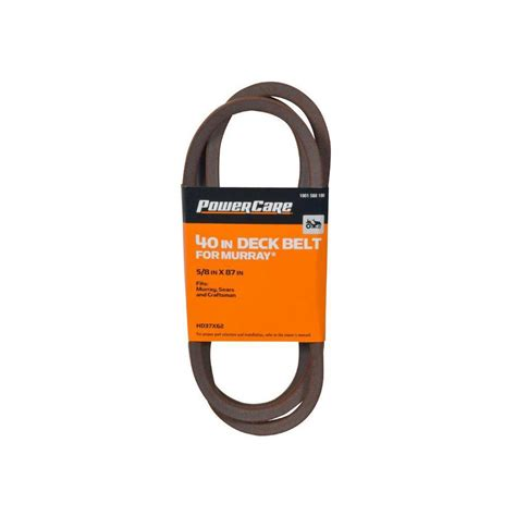 Murray Mower Deck Belt by Murray 40 In Tractor Deck Belt Hd37x62 The Home Depot