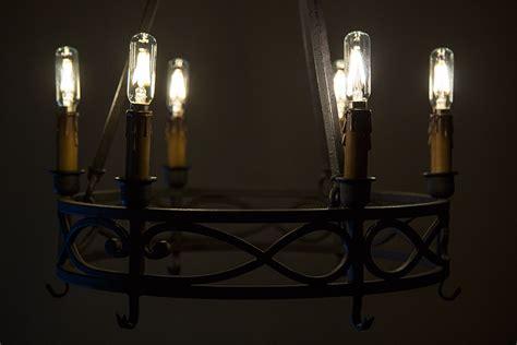 led vintage l t8 led filament bulb 25 watt equivalent candelabra led