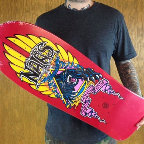 Natas Kaupas Deck Reissue by Natas Kaupas Panther Reissue Deck In Stock At The Boardr
