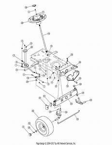 Mtd 13ao791g718  2005  Parts Diagram For Steering